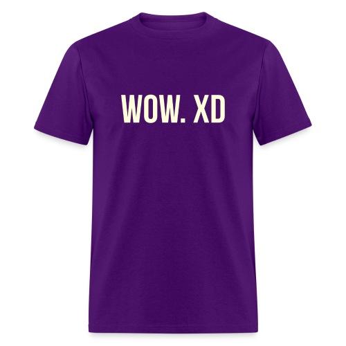 WOW. XD - Men's T-Shirt