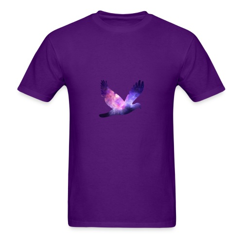 Galaxy bird - Men's T-Shirt