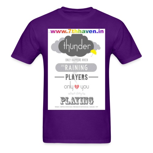 Player, Rainy, thunder, Dream - Men's T-Shirt