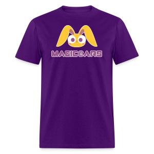 Purple T-shirt with yellow bunny - Men's T-Shirt