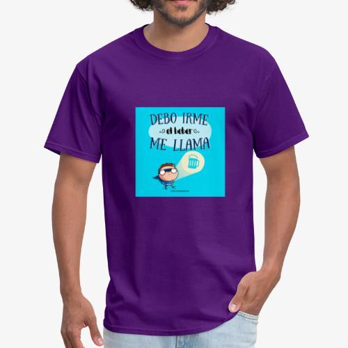 debo irme el beber me llama - Men's T-Shirt