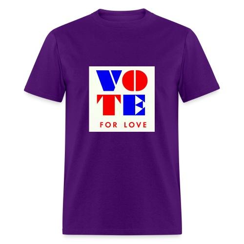 vote4love-sample - Men's T-Shirt