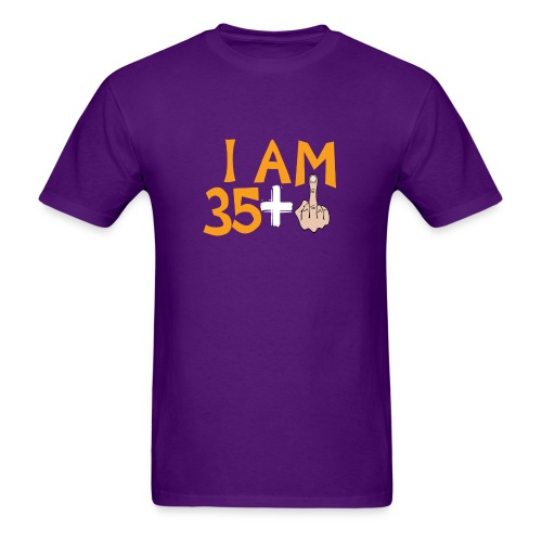 36th Birthday Gift Ideas Funny Born 36 Years Old - Men's T-Shirt