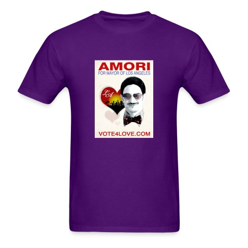 Amori for Mayor of Los Angeles eco friendly shirt - Men's T-Shirt