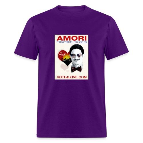 Amori for Mayor of Los Angeles eco friendly shirt - Men's T-Shirt