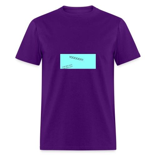 YOOOO - Men's T-Shirt