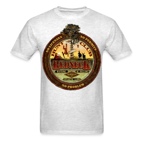 redneck hunt club - Men's T-Shirt