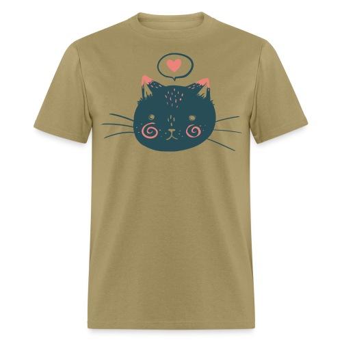Cat Face by Kelsey King - Men's T-Shirt