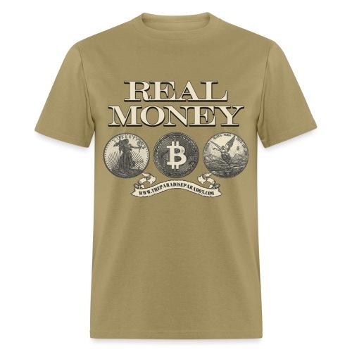 Real Money no border - Men's T-Shirt