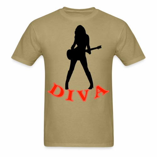 Rock Star Diva - Men's T-Shirt