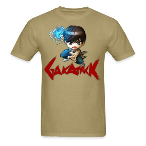 dbz gakattack optimized - Men's T-Shirt