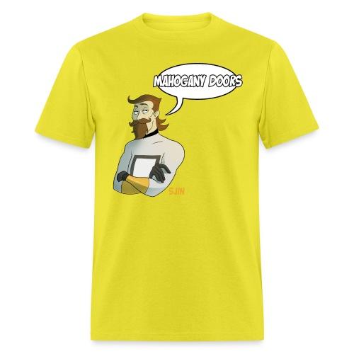 MahoganyDoors Sjin 400dpi png - Men's T-Shirt