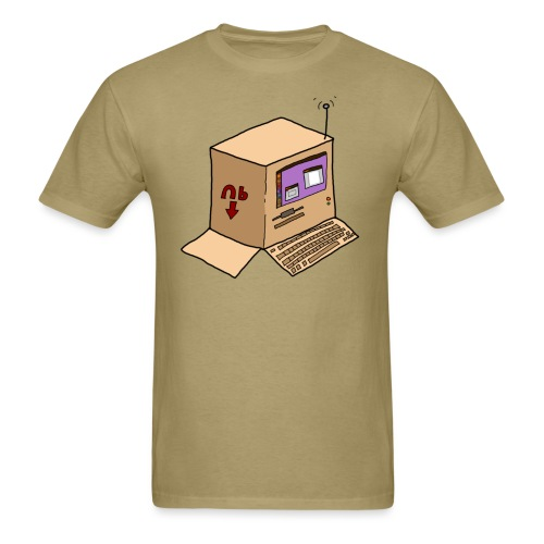 boxcomputer - Men's T-Shirt