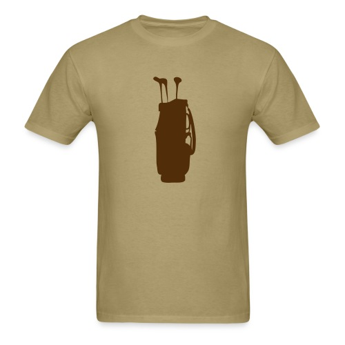 golf bag - Men's T-Shirt