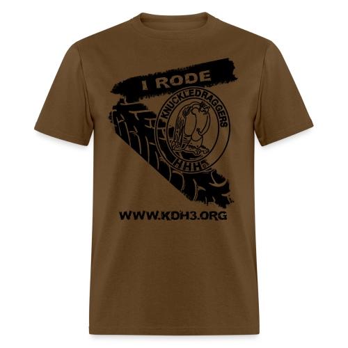 KDH3 I Rode PNG - Men's T-Shirt