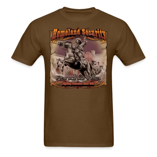 Homeland Security by RollinLow - Men's T-Shirt