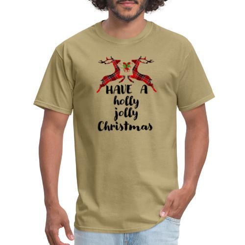 Holly Jolly Christmas - Men's T-Shirt