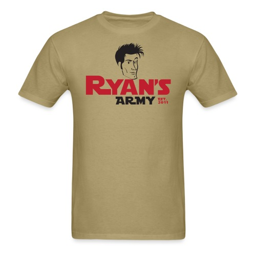 ryans army logo22 - Men's T-Shirt
