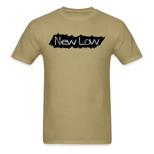 new low logo1a - Men's T-Shirt