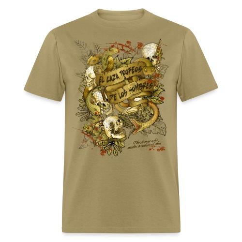 El caza Golden - Men's T-Shirt