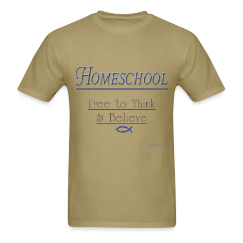 Homeschool Freedom - Men's T-Shirt