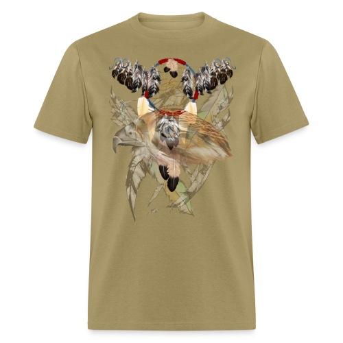 Dream Catcher and Feathers-Hawk Face Shirt - Men's T-Shirt