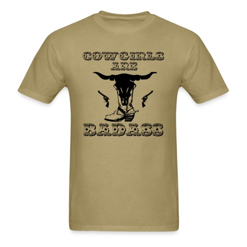 COWGIRLS ARE BADASS - Men's T-Shirt