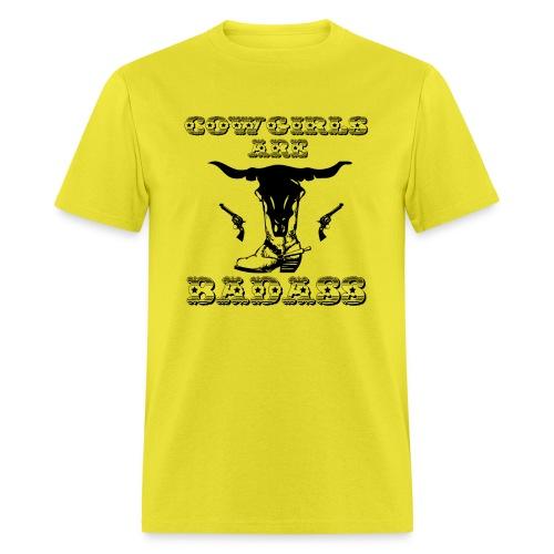 COWGIRLS ARE BADASS - Men's T-Shirt