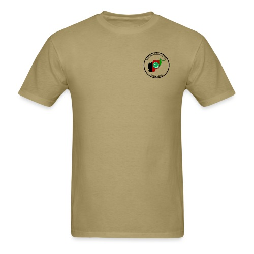 Multi-National Base Tarin Kowt T-Shirt - Brown - Men's T-Shirt