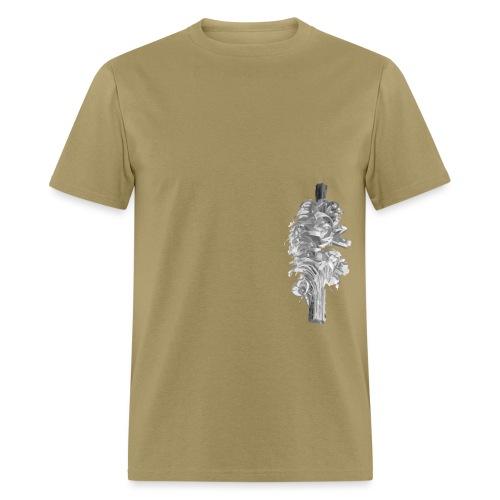 Grey Feather - Men's T-Shirt