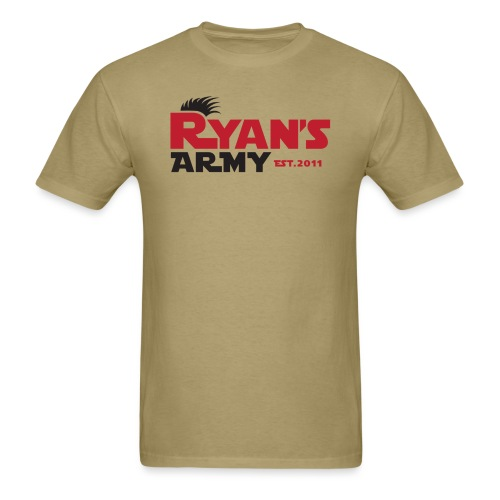 ryans army logo3 - Men's T-Shirt