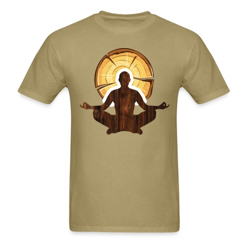 Woodworking is my meditation - Men's T-Shirt