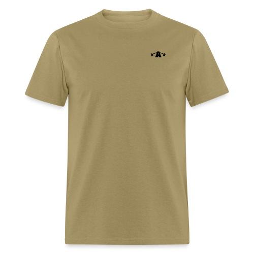 Alpha Vector Black - Men's T-Shirt