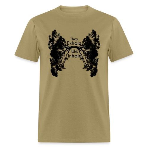 InhaleExhaleBlack - Men's T-Shirt