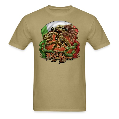 Brown 2Da Bone by RollinLow - Men's T-Shirt