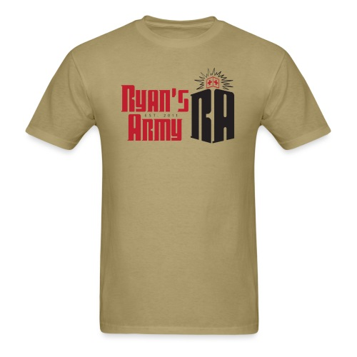 ryans army logo5 - Men's T-Shirt