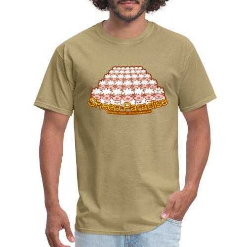 Sheep Paradise - Men's T-Shirt