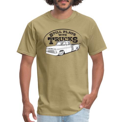 64 66BaggedC10LongStep BL - Men's T-Shirt