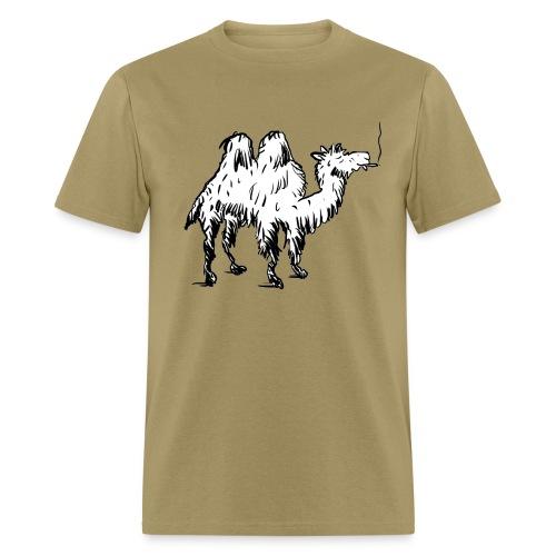 Camel Smoking on Hump Day - Men's T-Shirt