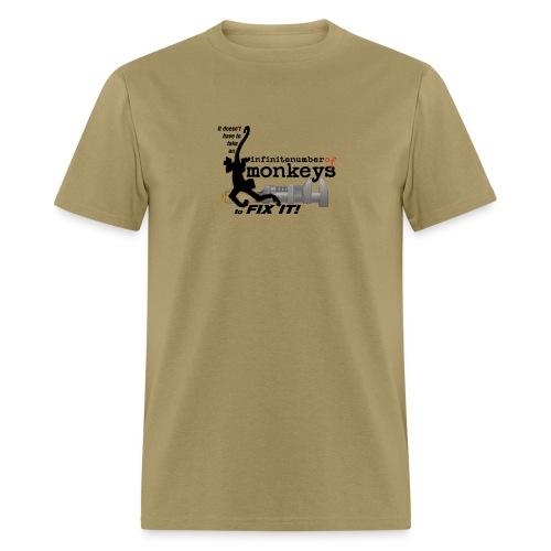 monkeywrench fix - Men's T-Shirt
