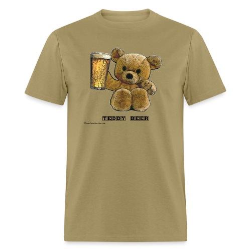 Teddy Beer - Men's T-Shirt