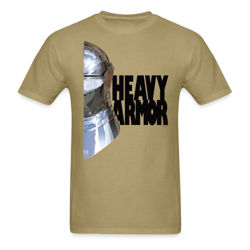Heavy Armor - Men's T-Shirt