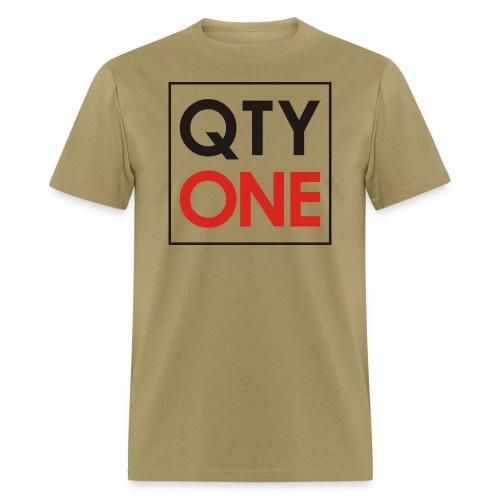 QTYONE Logo - Men's T-Shirt