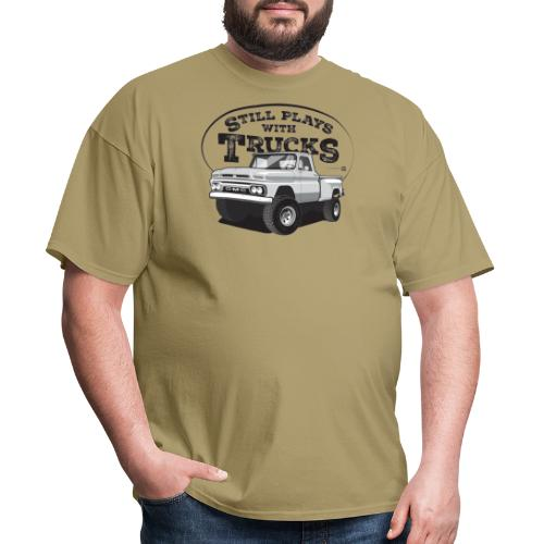 64GMC ShortStep4x4 BLK - Men's T-Shirt