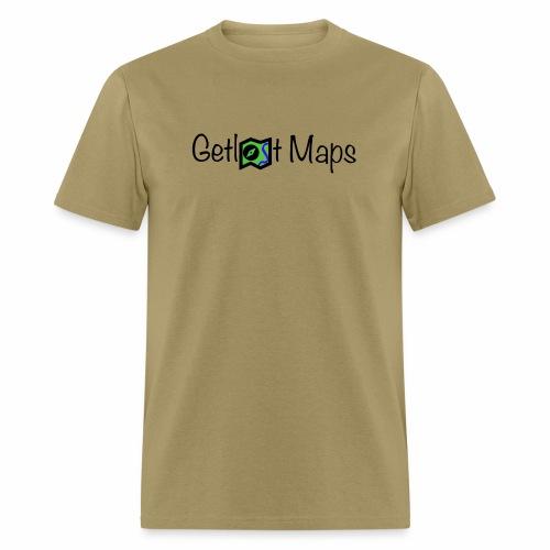 Getlost Maps Logo - Men's T-Shirt