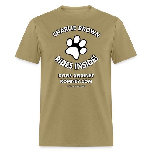 charliebrown m - Men's T-Shirt