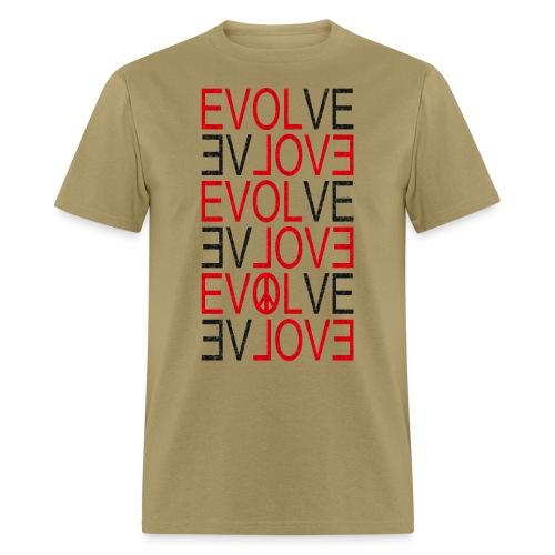 Evolve black - Men's T-Shirt