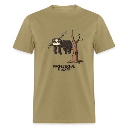 Professional Slacker Sloth - Men's T-Shirt