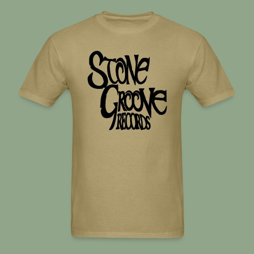 Stone Groove Records - Pinch Black Logo (shirt) - Men's T-Shirt