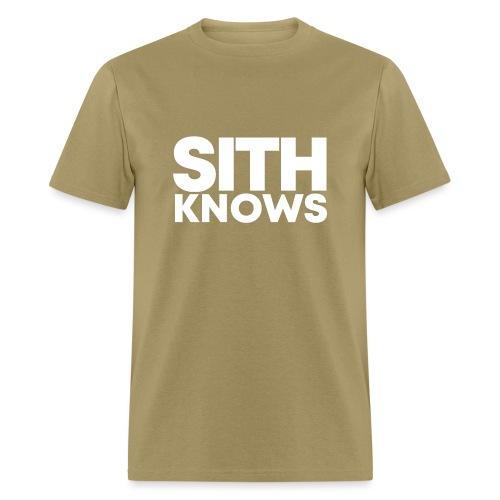 SITH KNOWS - Men's T-Shirt
